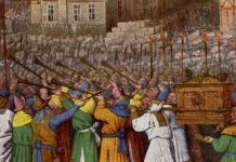 De inname van Jericho (Jean Fouquet)