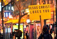 Jesus Christ loves you