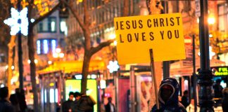Jesus Christ loves you